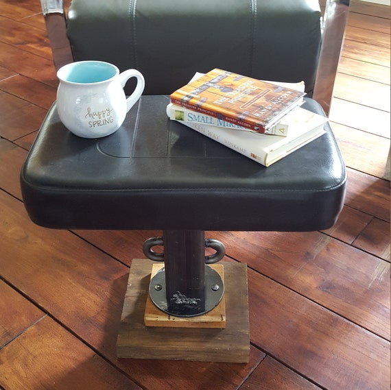 Amazing Black Foot Stool Pet Bed Stand Vintage End Table Industrial Furniture Plant Stand Upcycled Reclaimed Wood Furniture Shop Man Cave Gift Andrewgaddart Wooden Chair Designs For Living Room Andrewgaddartcom
