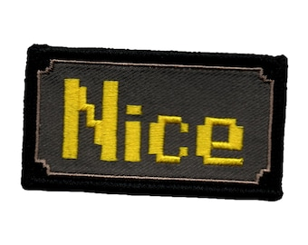 20f32221c94ec Runescape Buying gf Embroidered patch   Etsy