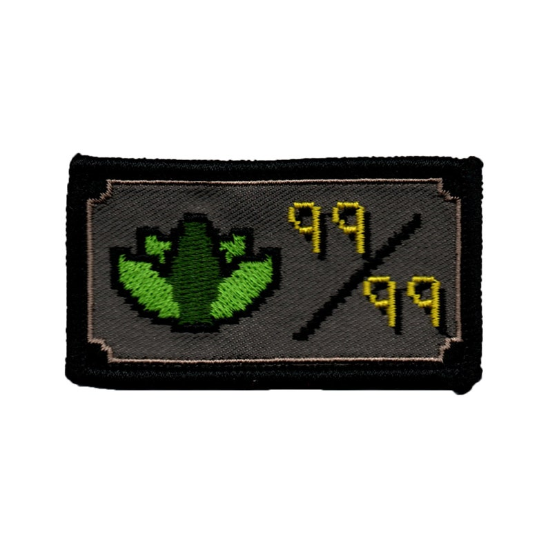 7bd7334368372 Herblore lvl 99 - Runescape - Embroidered patch