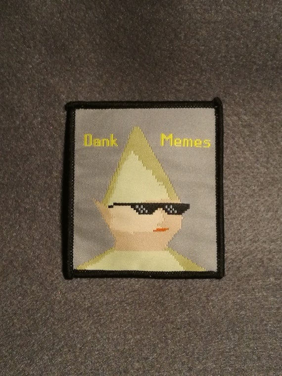 Gnome Child Dank Memes Woven Patch Etsy