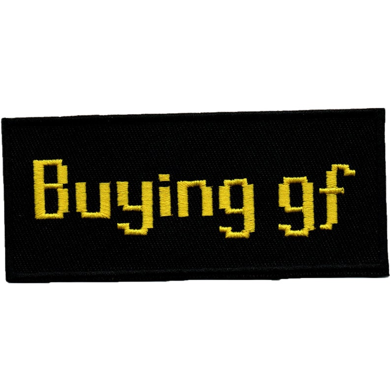 6801dbf026265 Runescape - Buying gf - Embroidered patch