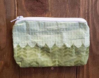Upcycled Grain Bag Zippered Pouch