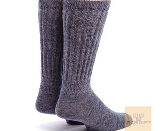 Therapeutic Alpaca Unisex Socks - Anti bacterial -Anti inflammatory-  Diabetic Socks -