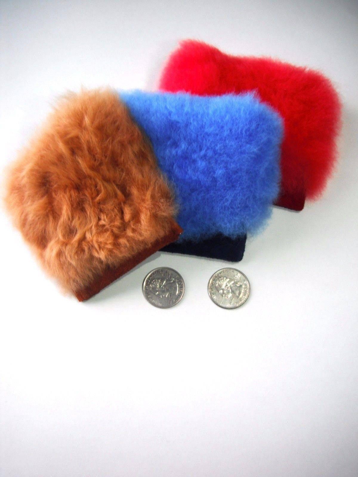 b60468e298fc1 3.8 Baby Alpaca Fur Coin Purse - no kill fur alpaca, coin purse, fur ...