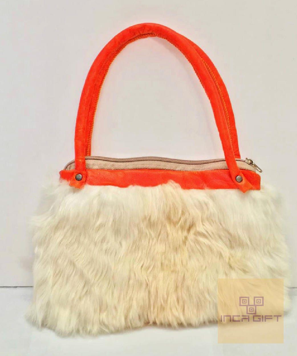 1713718195af6 8 Fur Mini Premium Alpaca Bag -no kill alpaca, Suri handbag, fur bag ...