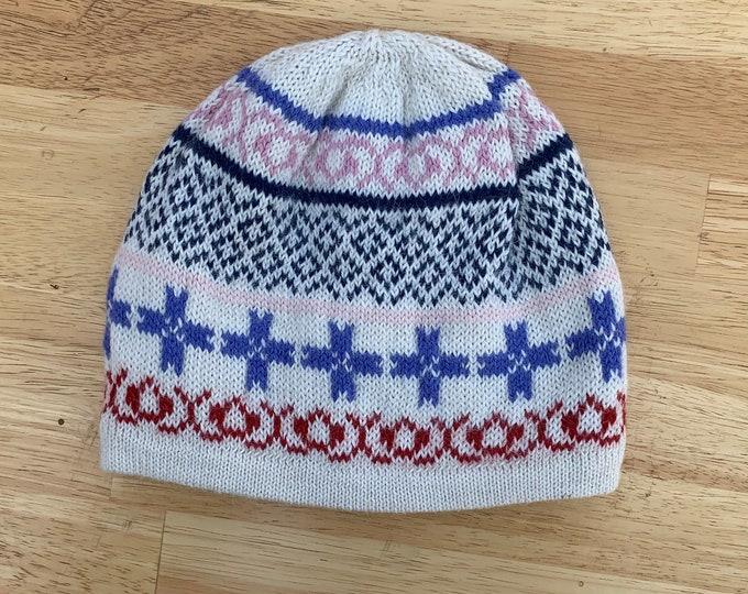 100% ALPACA - alpaca hat handmade in Peru - Fleece Lining  Alpaca hat for women Winter Hat hat -Peruvian Hat -Peruvian Products white