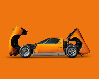 Lamborghini Miura Etsy
