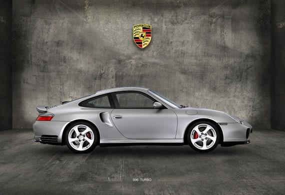 Porsche 996 Turbo >> Porsche 996 Turbo Canvas Print