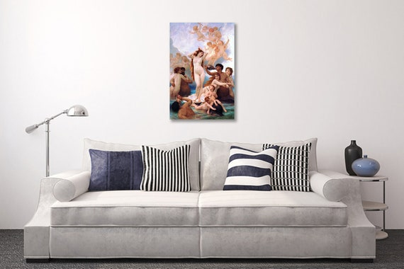 1879 William-Adolphe Bouguereau The Birth of Venus #054