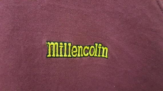 Vintage 90s MILLENCOLIN spellout embroidered punk… - image 5