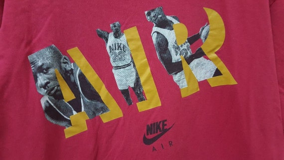Vintage 90s NIKE air grey tag MICHAEL