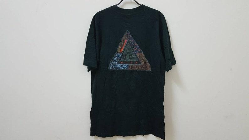 timeless design 45fd7 dd16f Vintage 90s NIKE ACG single pocket t-shirt rare streetwear