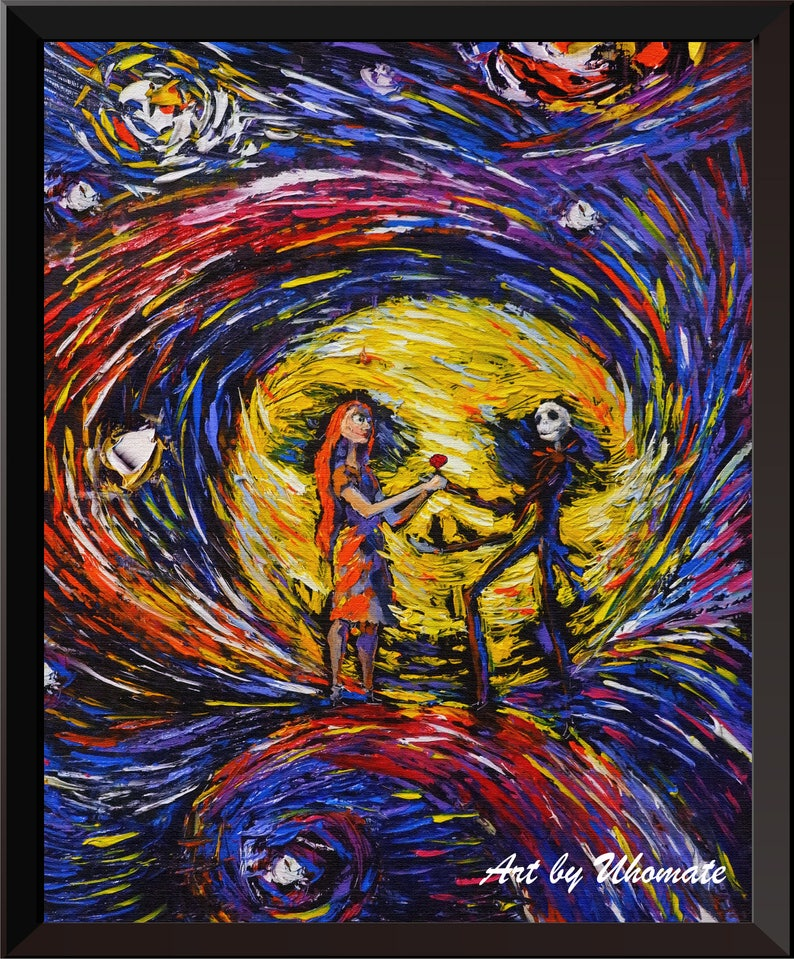 ad74ea9f9d08 Vincent Van Gogh Starry Night Posters Jack Sally Jack and