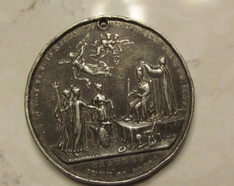 Queen Victoria Royal Coronation Medallion