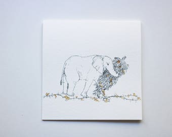 Elephant Holiday- Pack of 6