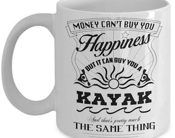 Money can buy you a Kayak Mug