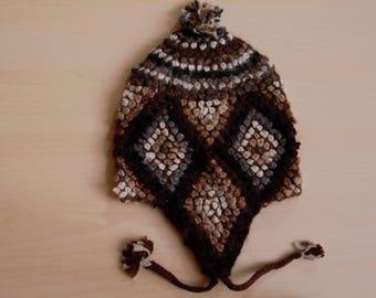 Handmade Peruvian Alpaca Winter Hat