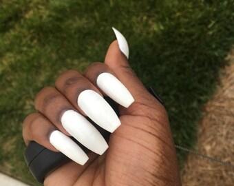 Acrylic Nails Etsy