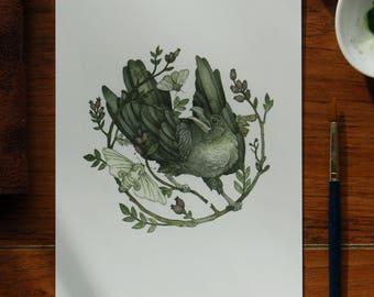 Nightmare Illustration ~ Giclee Print