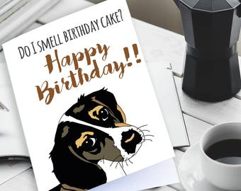 Happy Birthday Dog Card Lover Funny Cards Printable