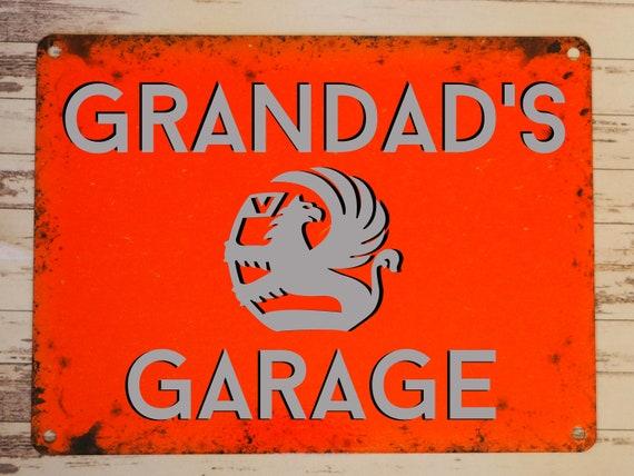 small VAUXHALL VICTOR CAR SIGN RETRO VINTAGE STYLE  garage workshop tin room