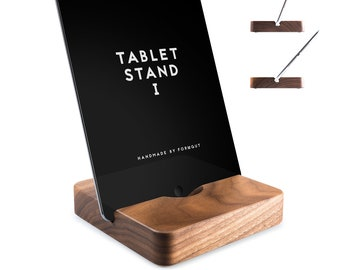 Tablet stand I//Walnut
