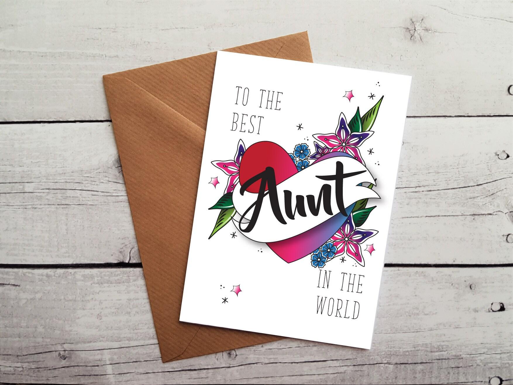 Aunt Birthday Card Best Occasion