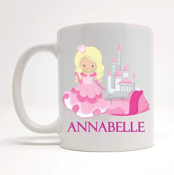 Princess Gifts Princess Mug Princess Castle Gifts Cute Personalised Princess Mug Gift For Best Friend Princess Name Gift Ideas For Her