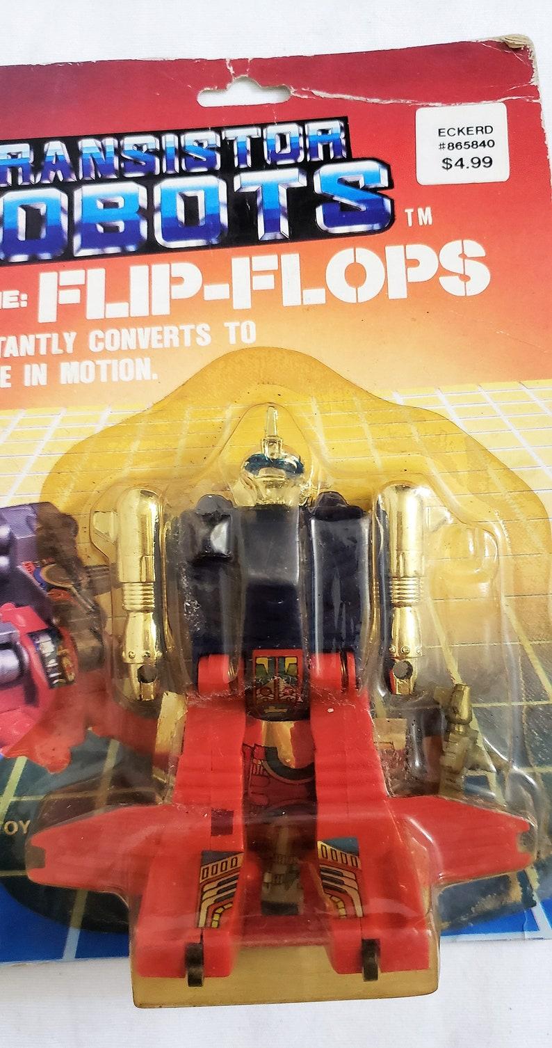efe6dbea9c178 RARE Vintage Transistor Robot Code Name  Flip Flop. 1985