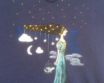 """""""Constellation"""" t-shirt, size XXL (44-46)"""