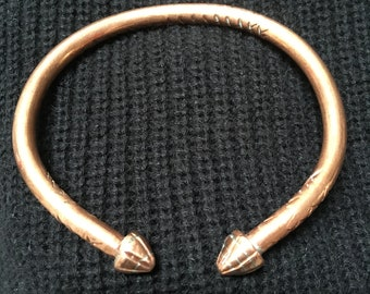 Hand Made Copper Bracelet