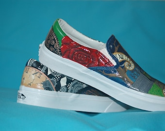 Alice and Wonderland Inspired Shoes