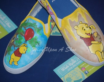 d3d20d2d2b27a Pooh shoes | Etsy
