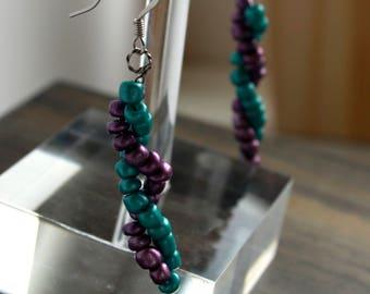 Double Helix Earrings