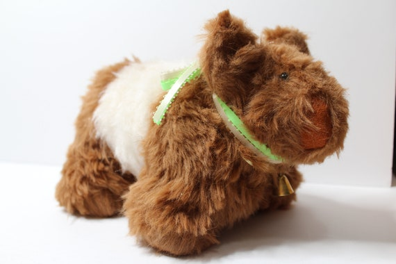Stuffed Belted Galloway Cow Stuff Cow Decoration Red Belted Galloway Cow Stuffed Cow
