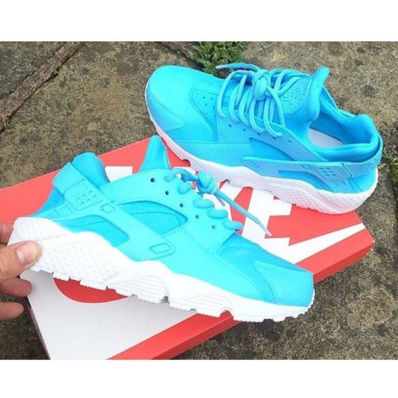 4d1183e3337d22 Nouvelle coutume Nike Sky Huaraches Teal Teal Teal Air bleu & blanc |  Apparence Attrayante f751af