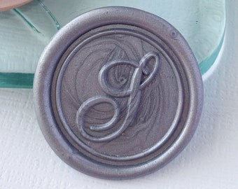 Letter S Wax Seals, Self Adhesive