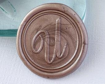 Letter U Wax Seals, Self Adhesive
