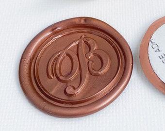 Letter B Wax Seals, Self Adhesive