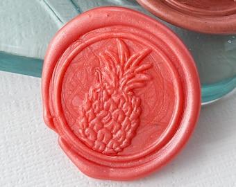 Pineapple Wax Seals, Self Adhesive