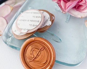 Letter Z Wax Seals, Self Adhesive