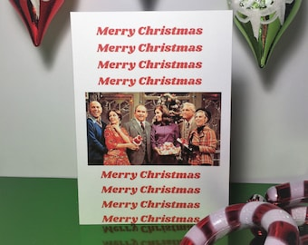 Merry Christmas/ Mary Tyler Moore Holiday Card/ Classic TV