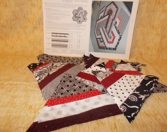 Triad Interlock Quilted Wallhanging Project - FREE SHIPPING