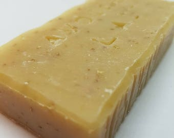 Handmade soap, oatmeal and milk - oats and milk Handcrafted Soap