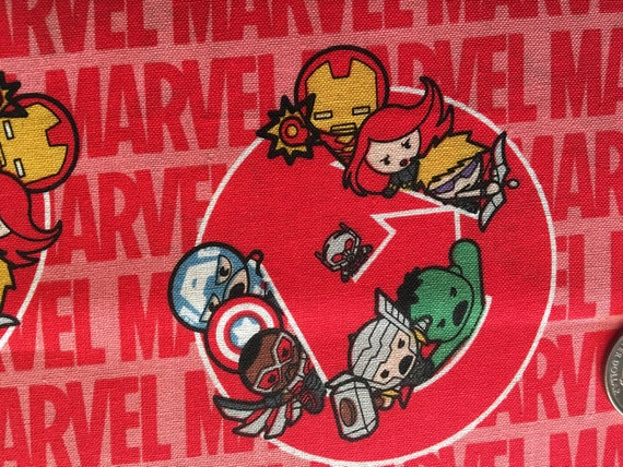 per 1//2 m for sewing crafts and costumes! Marvel 100/% cotton halloween fabric