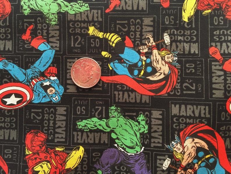 WONDER WOMAN FABRIC RISE OF THE WARRIOR! DC COMIC SUPERHERO BY THE HALF YARD