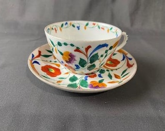 Hand Painted Tea Cup Etsy