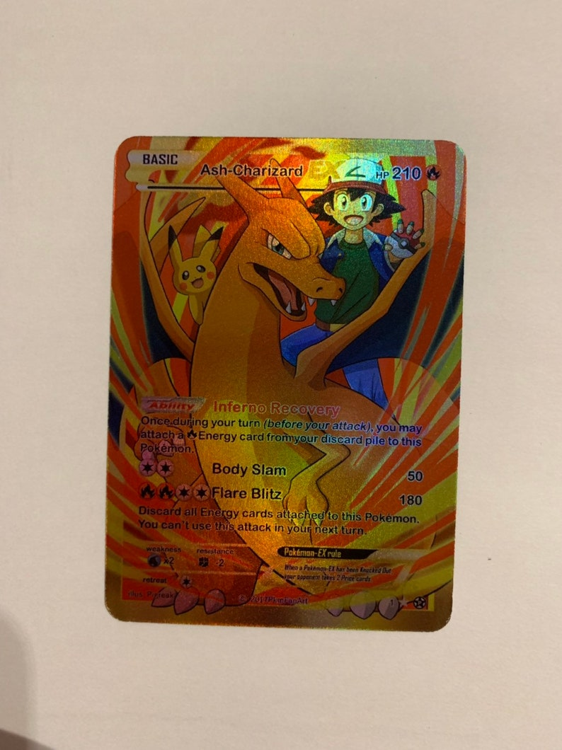 EX Drawing Charizarde Pass Case