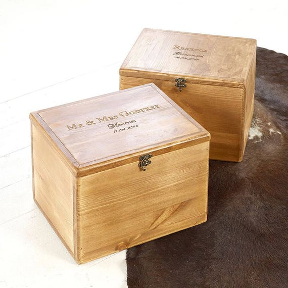 Wedding Keepsake Box Wedding Gift Wedding Memory Box Wedding Box Wooden Memory Box Personalised Gift Box Gift Box Keepsake Boxes
