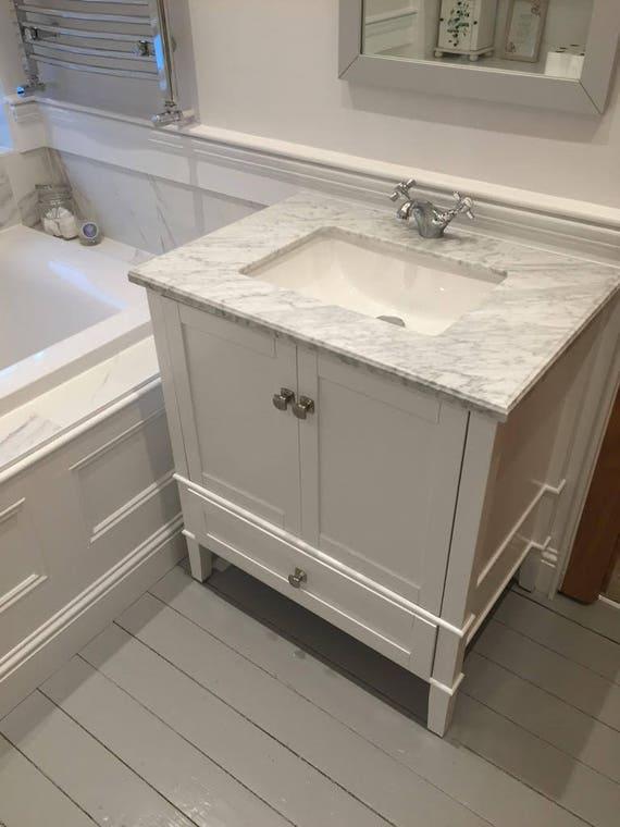 Solid Wood Shaker Style Bathroom Vanity Etsy